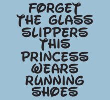 Forget The Glass Slippers, This Princess Wears Running Shoes Kids Clothes