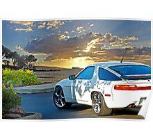 1990 Porsche 928 Poster
