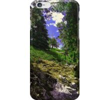 Green Hill iPhone Case/Skin