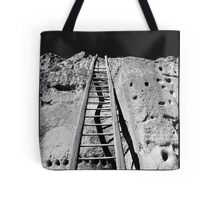 Puye Cliff Dwellings, New Mexico Tote Bag