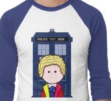 The 6th Doctor Men's Baseball ¾ T-Shirt