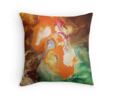 My Orange Flicka Throw Pillow