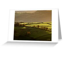 Distant Past Greeting Card
