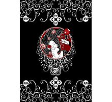 Poison - Black Rose on Black Photographic Print