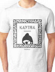 Kaytranada with white 'kayta' Unisex T-Shirt