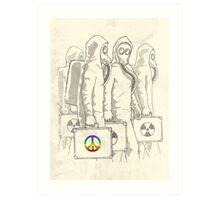 Radioactivist Art Print
