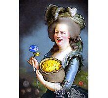 Allegory : David Cameron as Madame Déficit Photographic Print