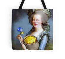 Allegory : David Cameron as Madame Déficit Tote Bag