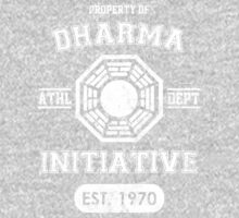 Dharma Initiative athletic department (Light ver.) One Piece - Long Sleeve