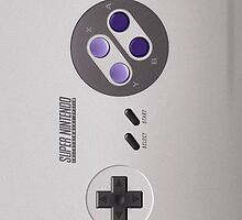 SNES Controller Case by DCVisualArts
