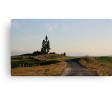 Lonely stand Canvas Print