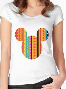 Mickey M. Women's Fitted Scoop T-Shirt