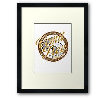 How I Met Your Mother: Vomit Free Since '93 Framed Print