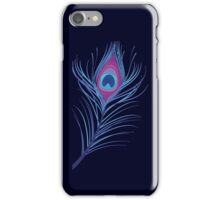 the peacock feather iPhone Case/Skin