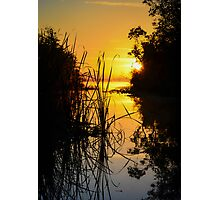 Lake Sunrise Photographic Print