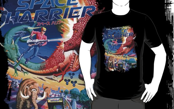 Space Harrier by slippytee