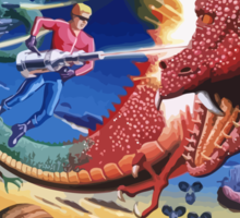 Space Harrier Sticker
