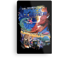 Space Harrier Metal Print