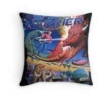 Space Harrier Throw Pillow