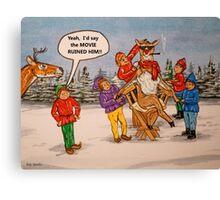Rudolph, The Movie Star Canvas Print