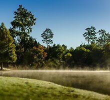 Low fog Lake by Douglas Hamilton