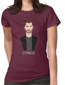Peter - Fringe Womens Fitted T-Shirt