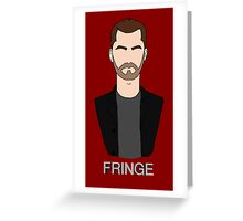 Peter - Fringe Greeting Card