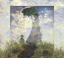 Woman with a Parasol - Monet by SometimesSilent