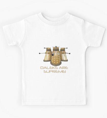 Daleks are Supreme Kids Tee