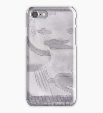 Indifference in the fog iPhone Case/Skin