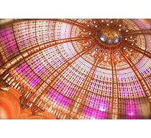 Christmas Dome in Paris Photographic Print