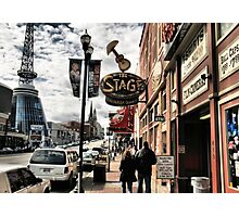 DOWNTOWN: NASHVILLE, TENNESSEE, U.S.A....BEFORE THE FLOOD Photographic Print