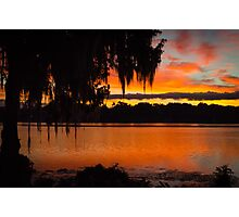 Colorful Lake Sunrise Photographic Print