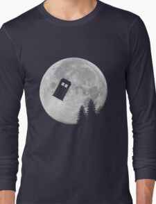 Tardis by the Moon Long Sleeve T-Shirt