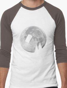 Tardis by the Moon Men's Baseball ¾ T-Shirt