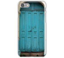 Blue Door Mexico iPhone Case/Skin