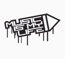 Music Is My Life Stamp by Style-O-Mat