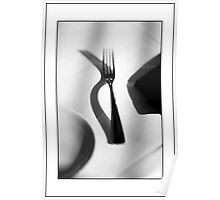 Place Setting For One Poster