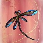 Dragonfly Sunset by lyndseyart