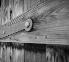 Wooden Door Close Up by Douglas Hamilton