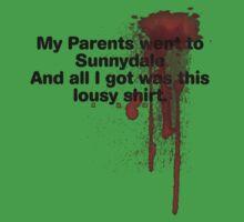 My Parents Went to Sunnydale version 1 Kids Clothes