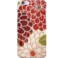 Vintage Blossoms iPhone Case/Skin