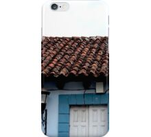 Tile Roof Mexico iPhone Case/Skin