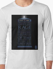 Dr. Who - He's Wonderful Long Sleeve T-Shirt