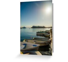 Monterey Boat Greeting Card