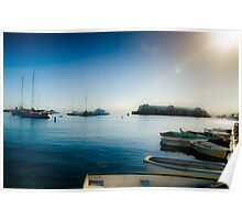 Monterey Boats Poster