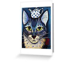 Ailurus the tail waver Greeting Card