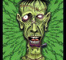 Frankenstein's monster by maxBlackHeart