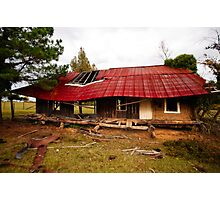 Red Roof Photographic Print