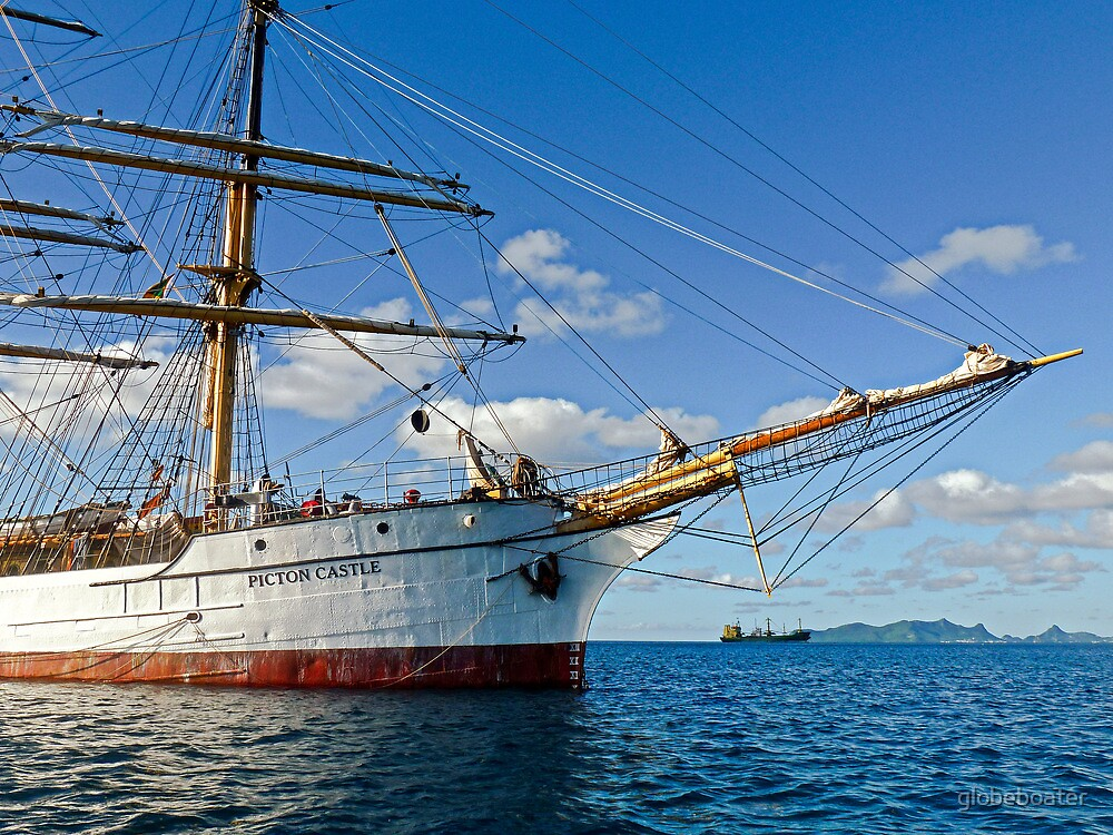 Bowsprit Picton Castle by globeboater